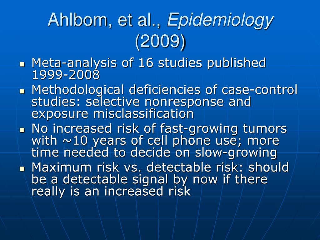 Ahlbom, et al.,