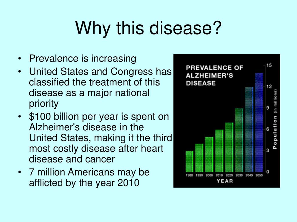 Why this disease?