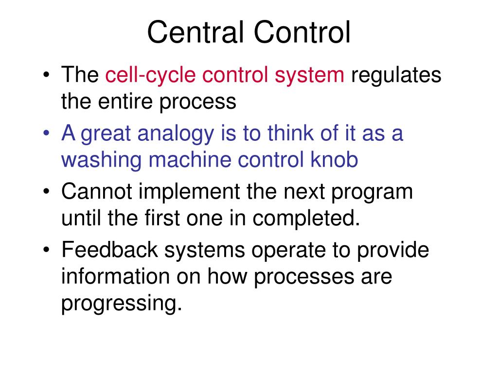 Central Control