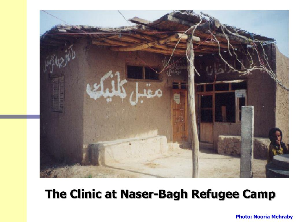 The Clinic at Naser-Bagh Refugee Camp