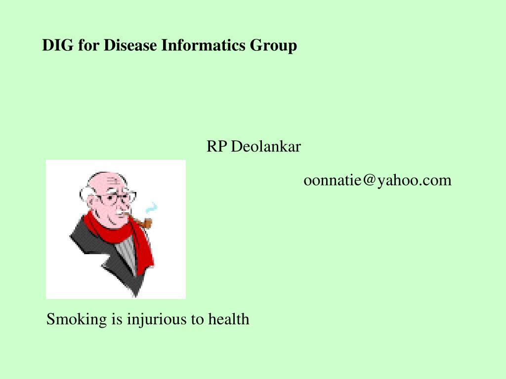DIG for Disease Informatics Group