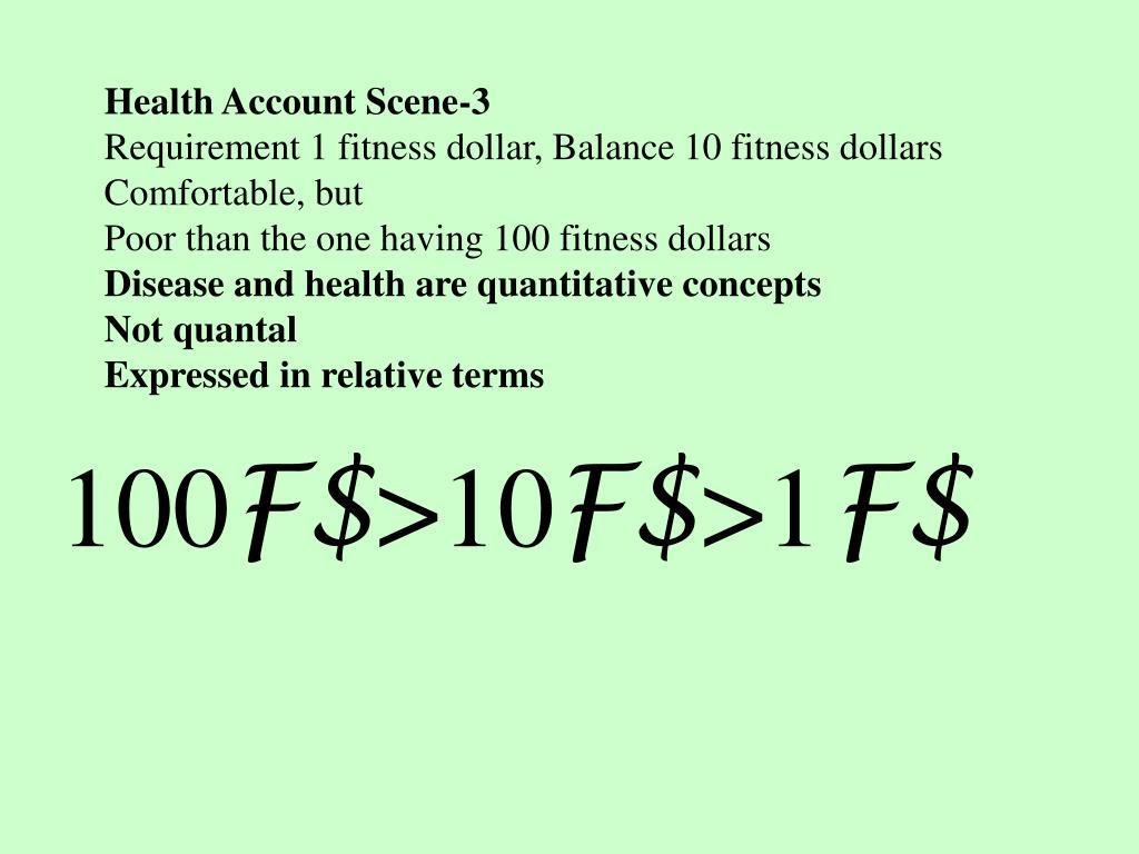 Health Account Scene-3