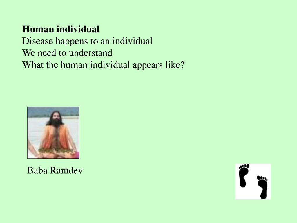 Human individual