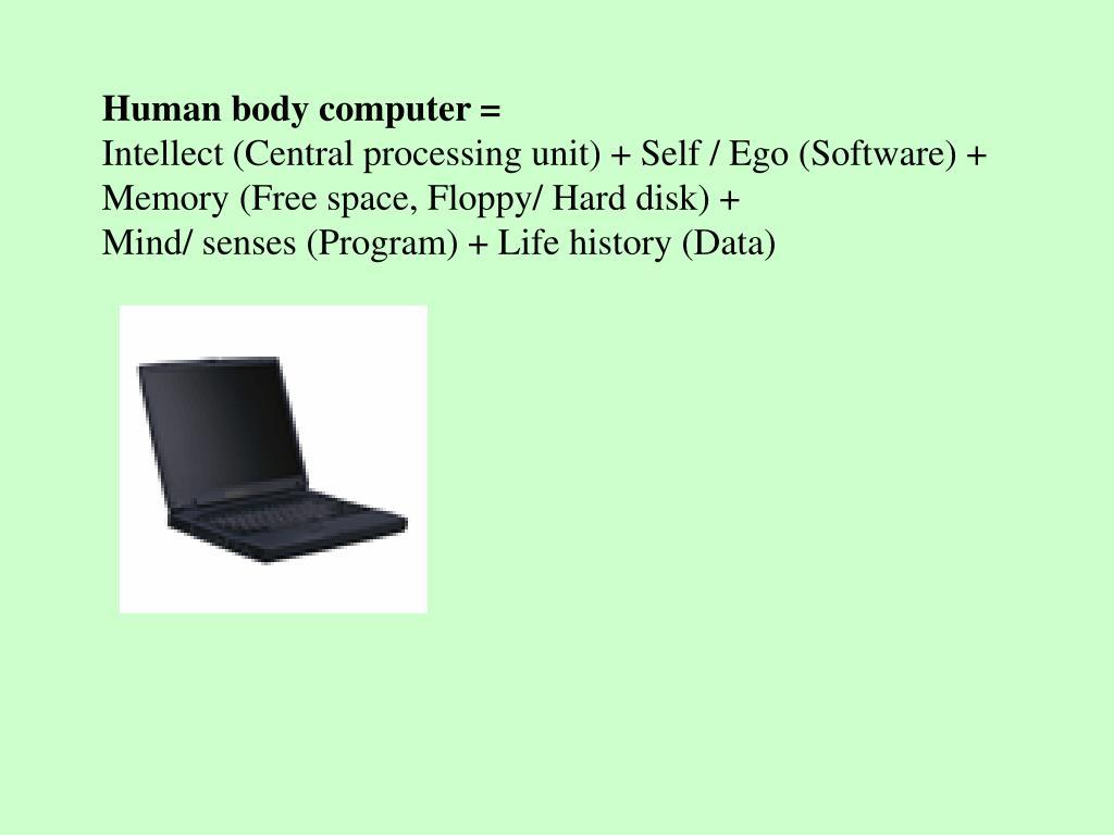 Human body computer =