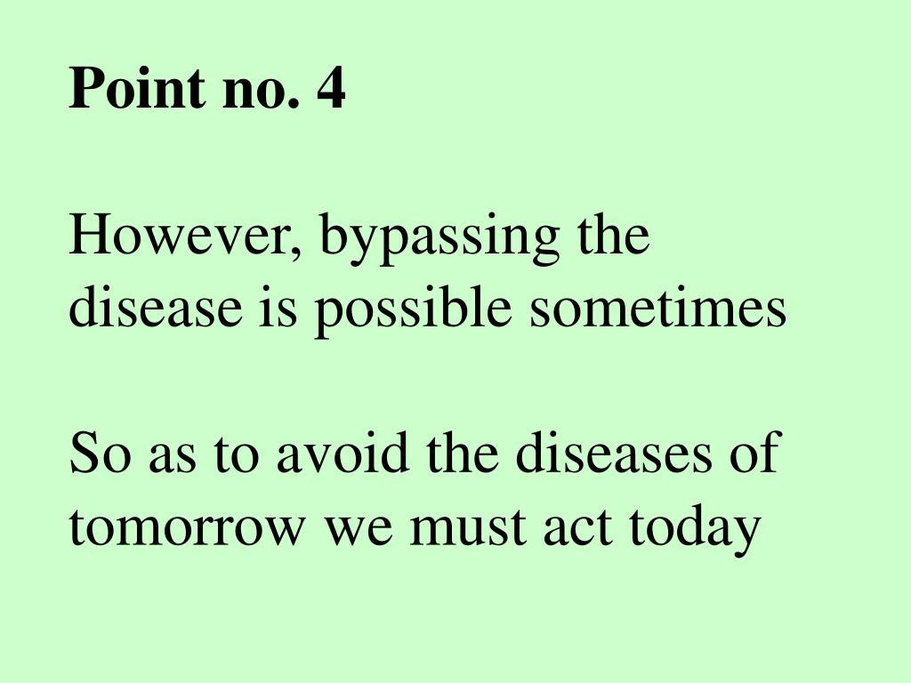 Point no. 4