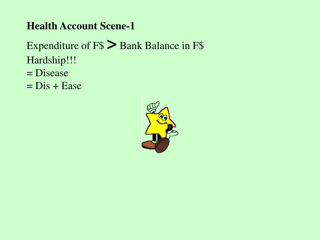 Health Account Scene-1