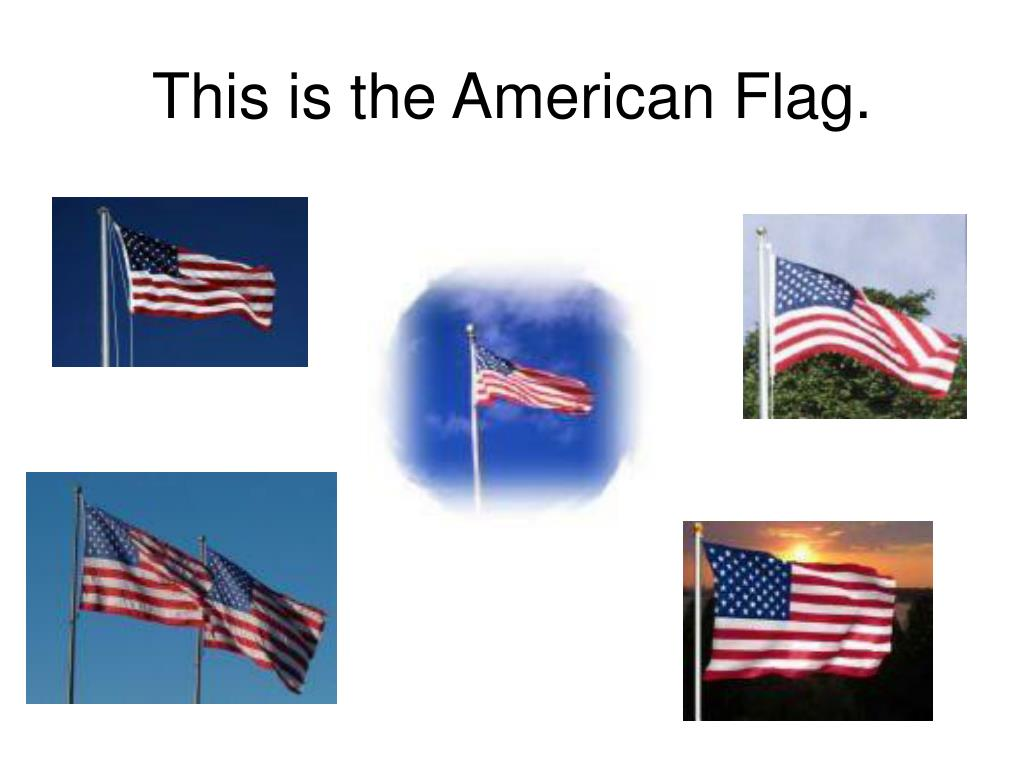 This is the American Flag.