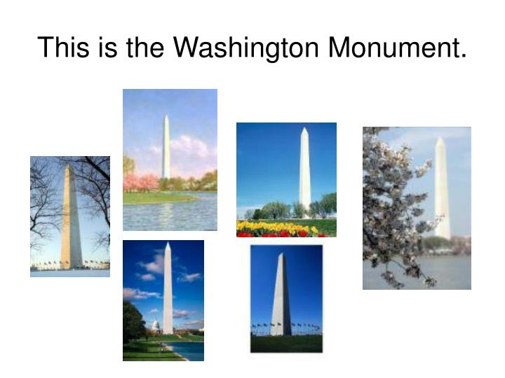 This is the washington monument