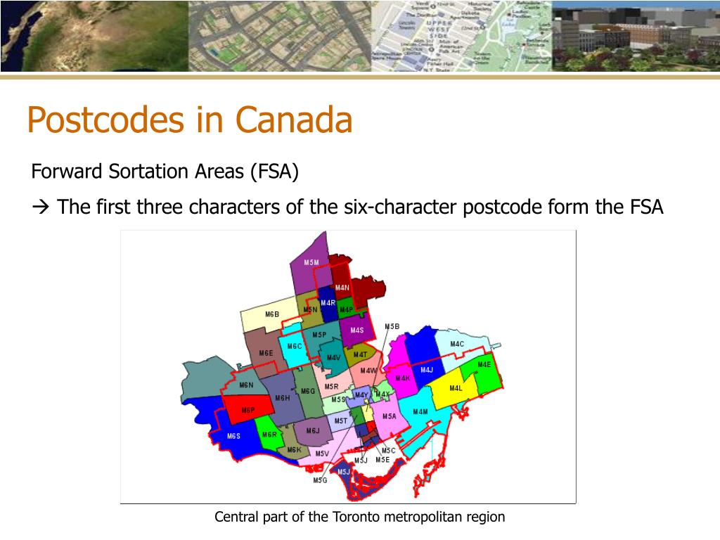 Postcodes in Canada