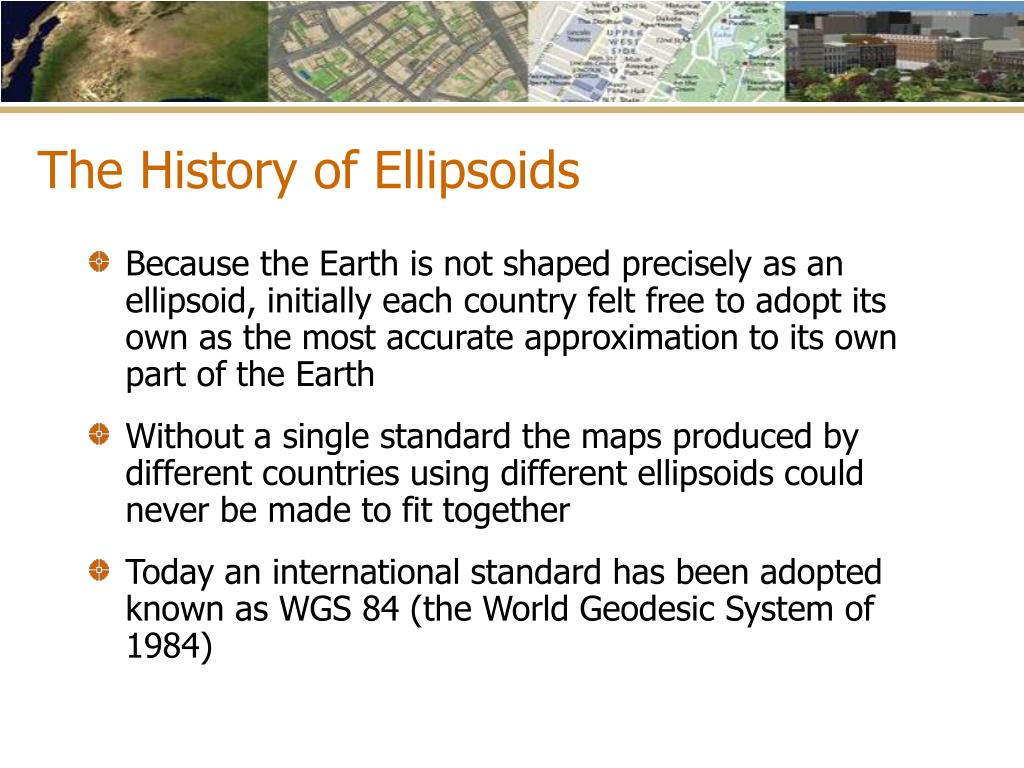 The History of Ellipsoids