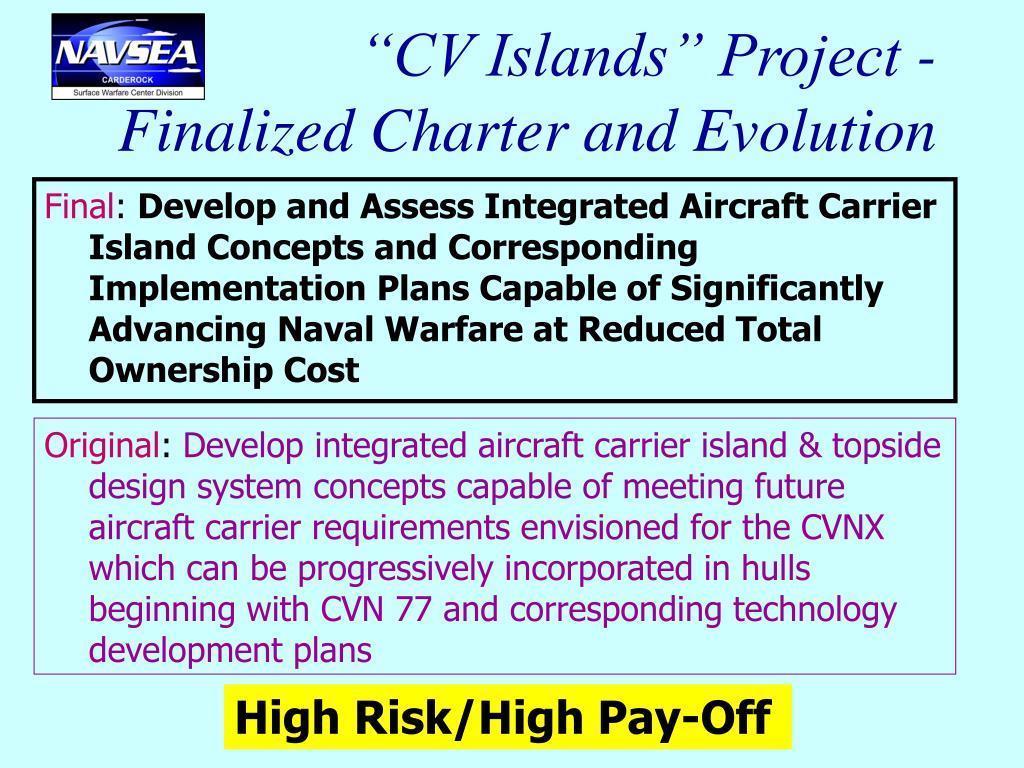 """""""CV Islands"""" Project -"""