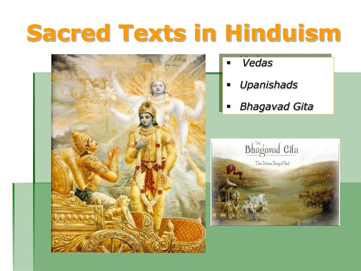 Sacred Texts in Hinduism