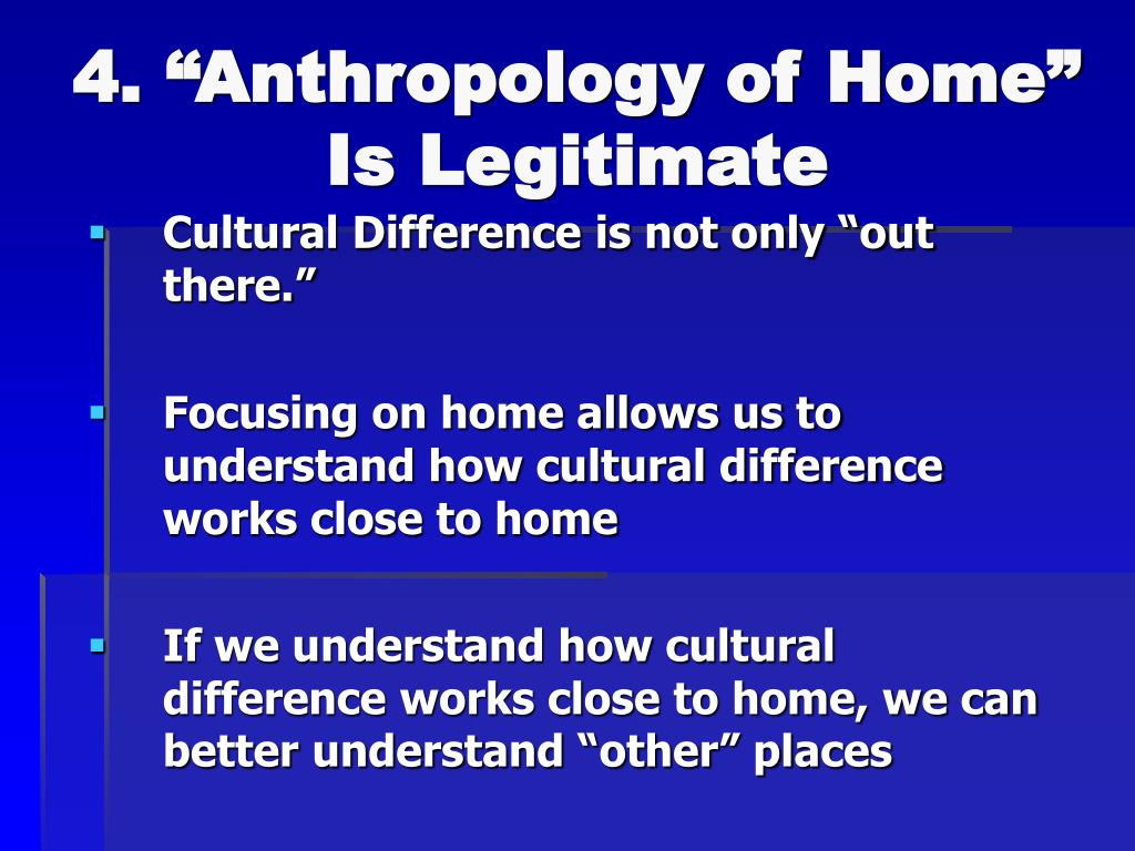 """4. """"Anthropology of Home"""""""