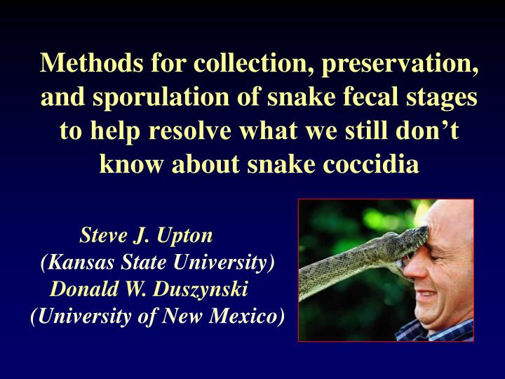 Methods for collection, preservation,