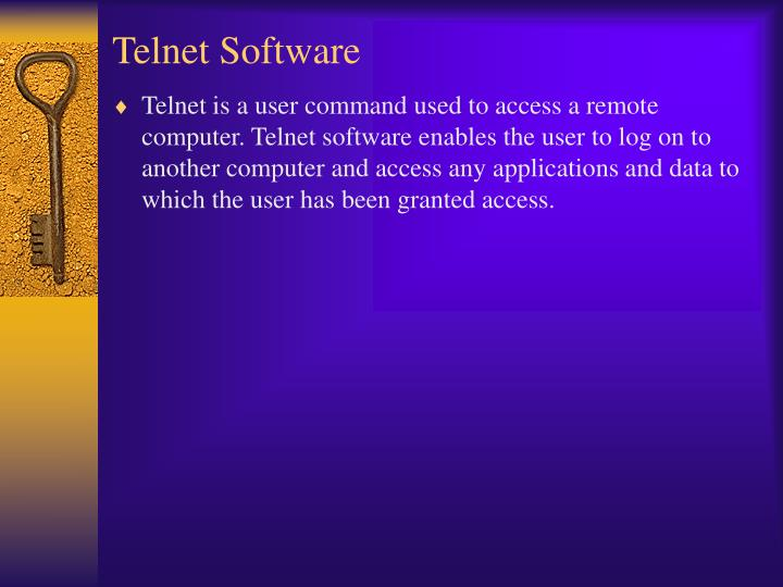 Telnet Software