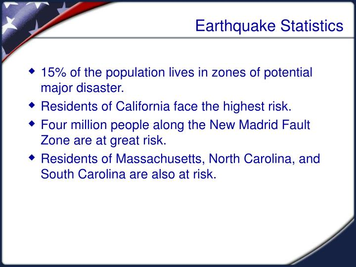 Earthquake Statistics