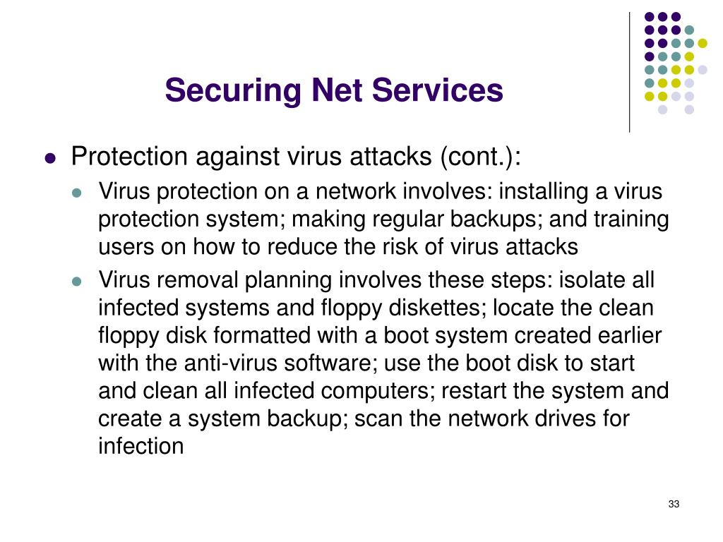 Securing Net Services
