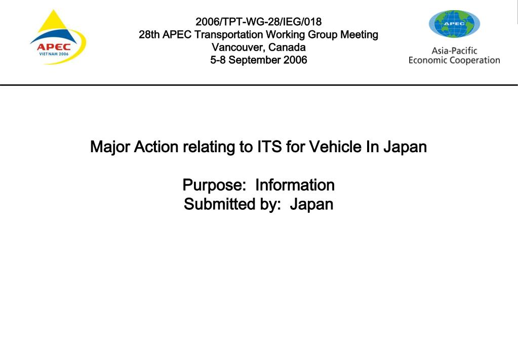 2006/TPT-WG-28/IEG/018