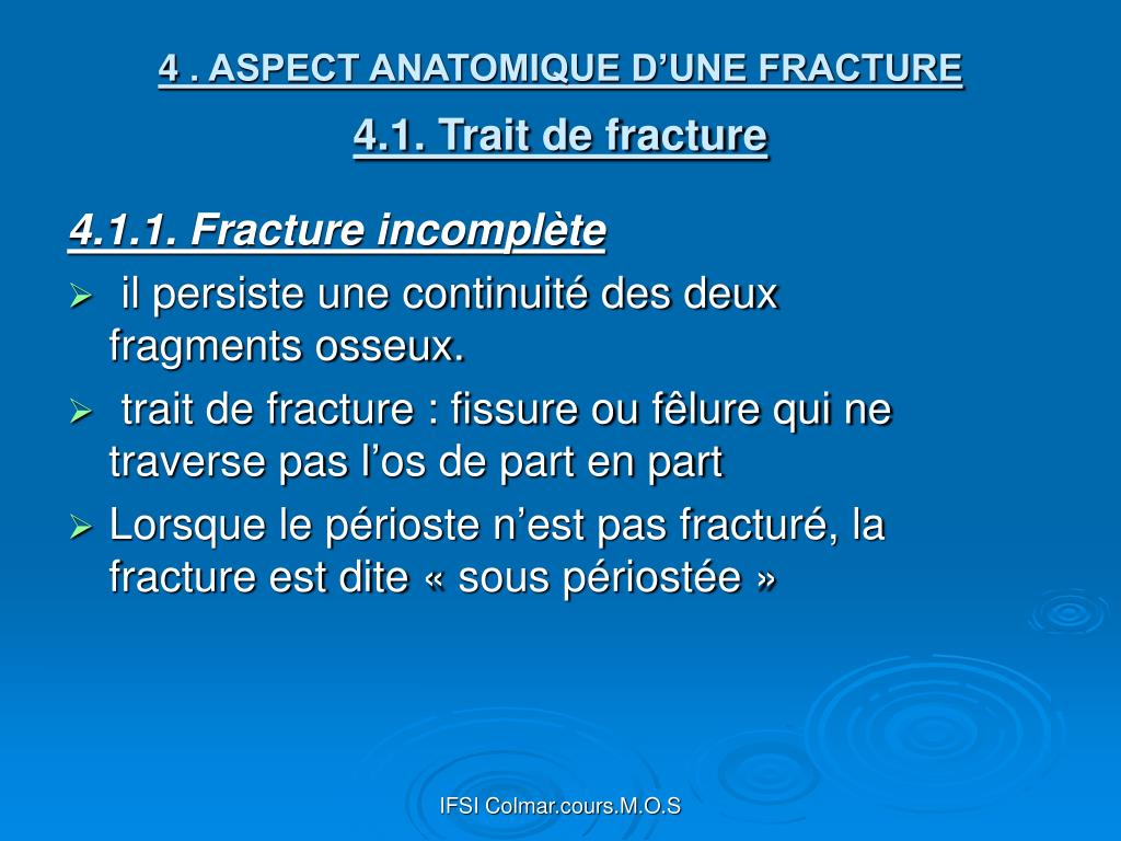 Ifsi Aulnay Sous Bois > PPT LES FRACTURES PowerPoint Presentation ID 299150