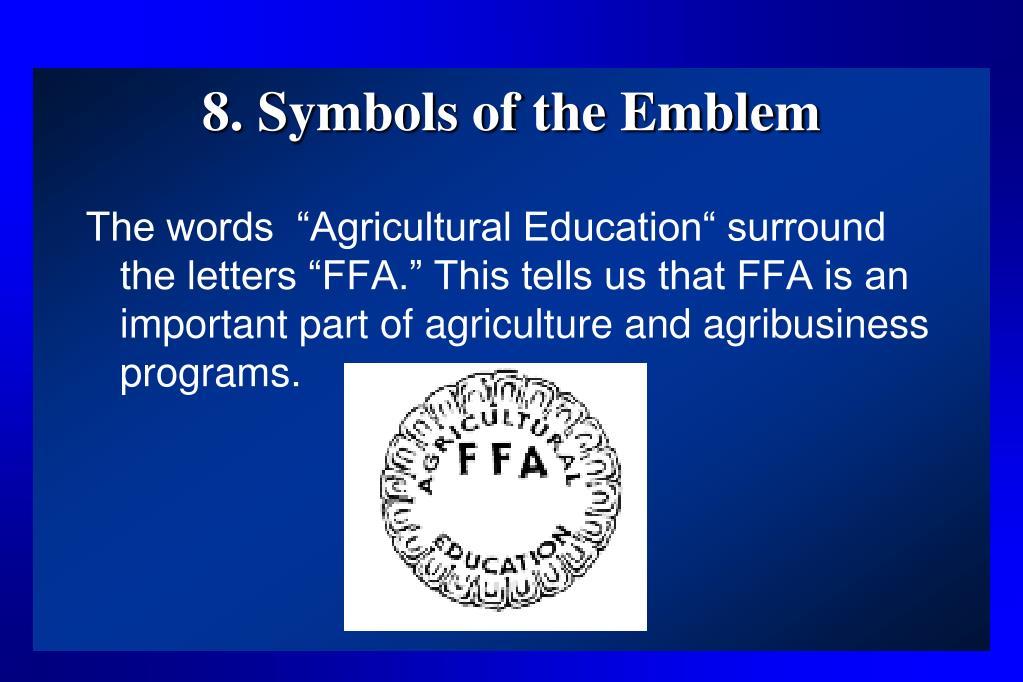 8. Symbols of the Emblem