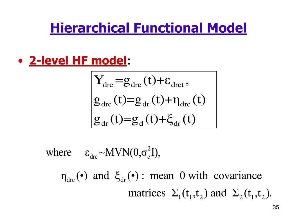 Hierarchical Functional Model