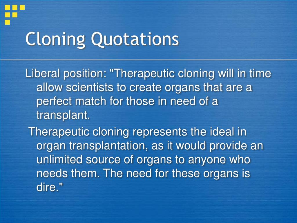 Cloning Quotations