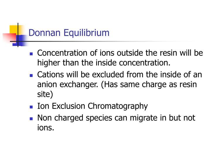 Donnan Equilibrium
