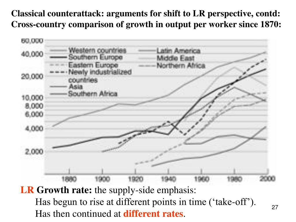Classical counterattack: arguments for shift to LR perspective, contd: