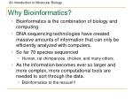 why bioinformatics87