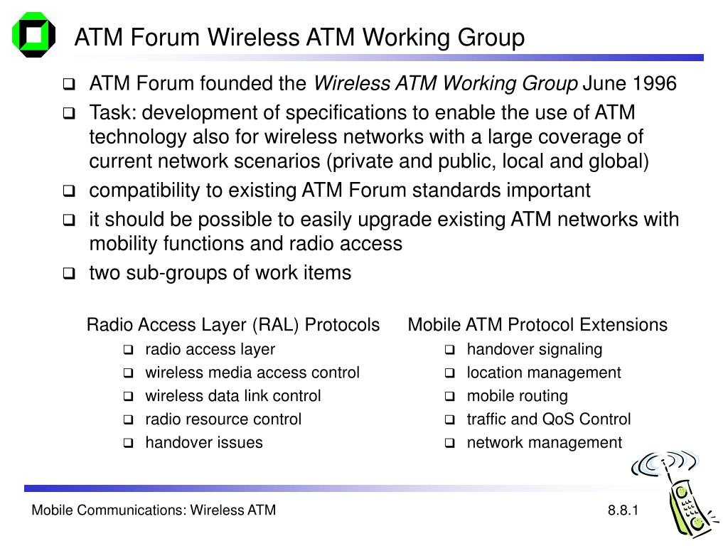 Mobile ATM Protocol Extensions