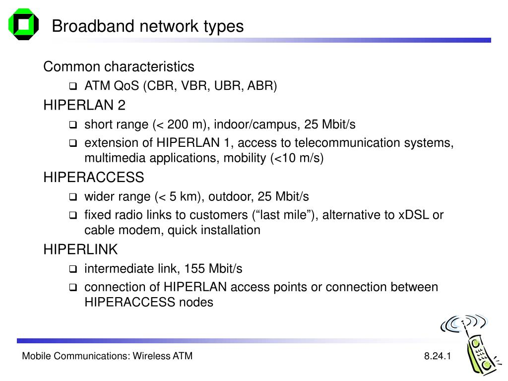 Broadband network types