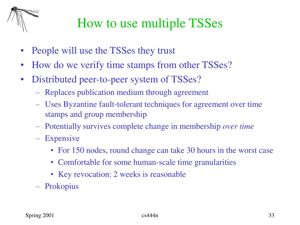 How to use multiple TSSes