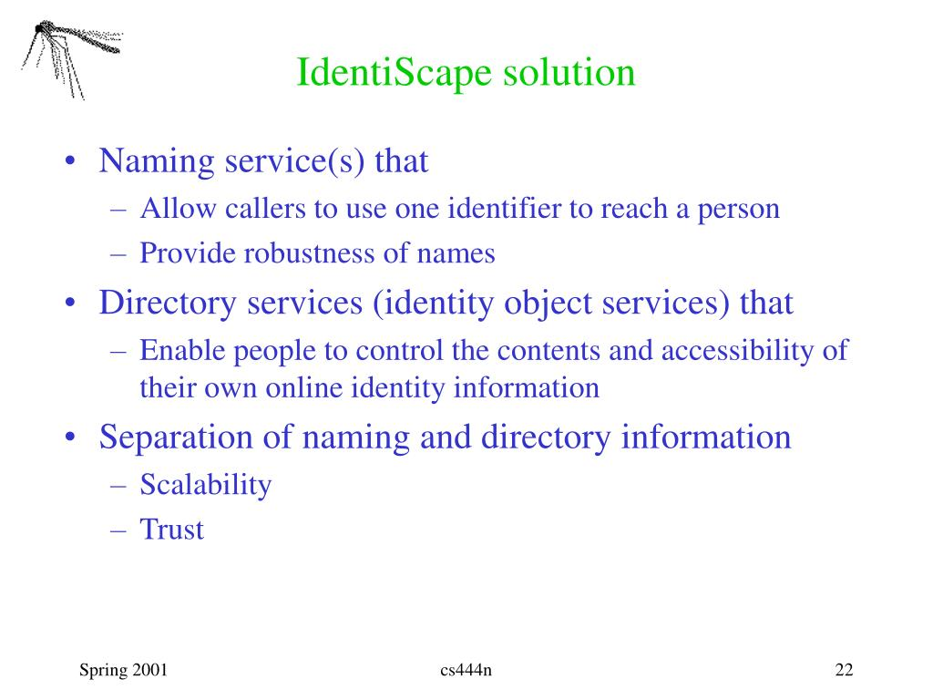 IdentiScape solution