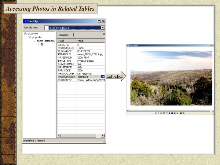 Accessing Photos in Related Tables