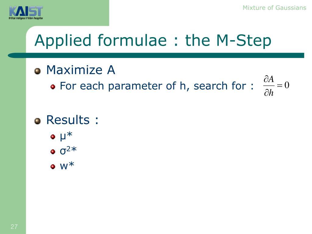 Maximize A