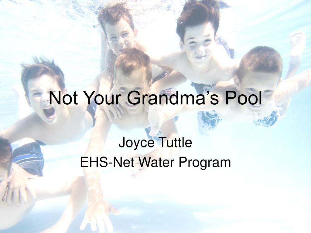 Not Your Grandma's Pool
