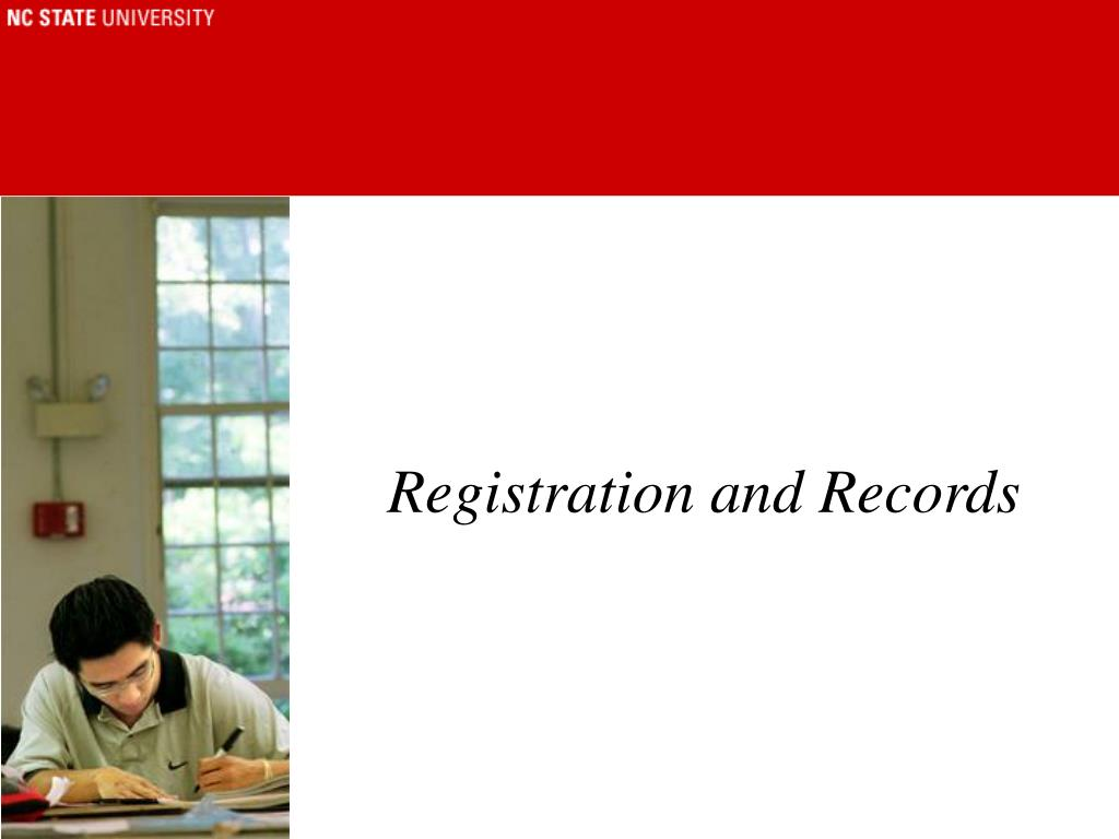 Registration and Records