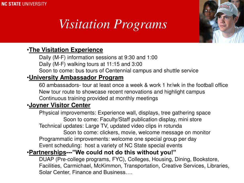 Visitation Programs