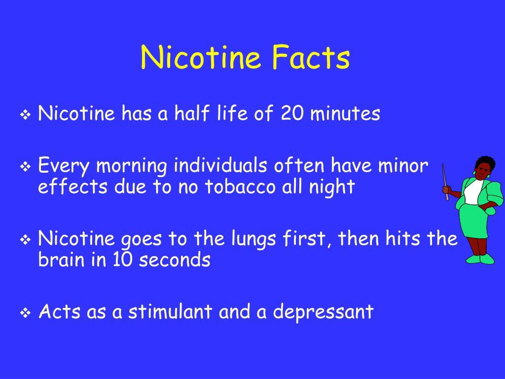 Nicotine Facts