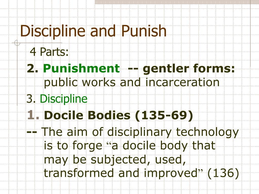 discipline and punish essay