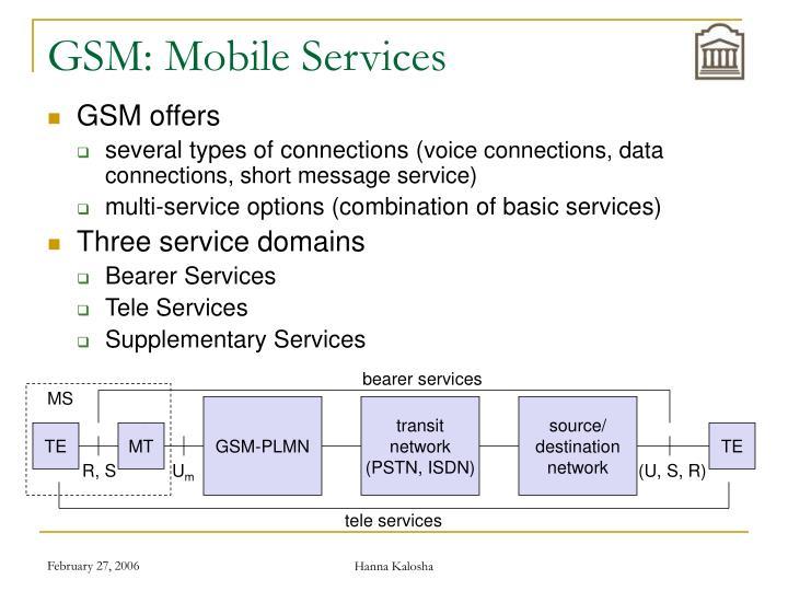 bearer services
