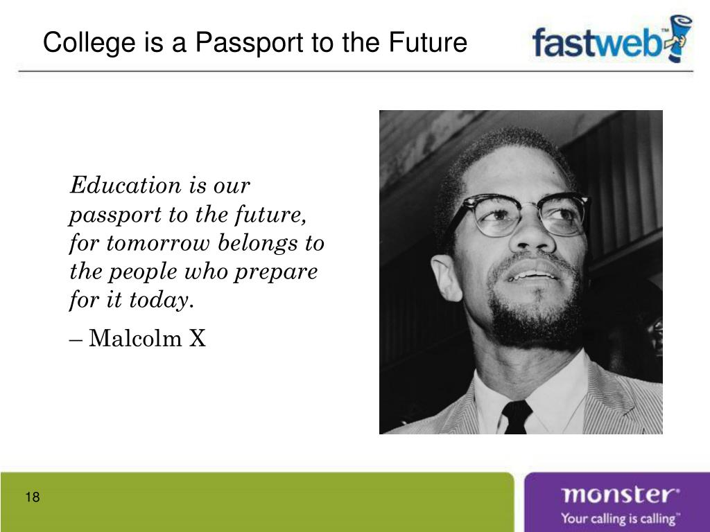 College is a Passport to the Future
