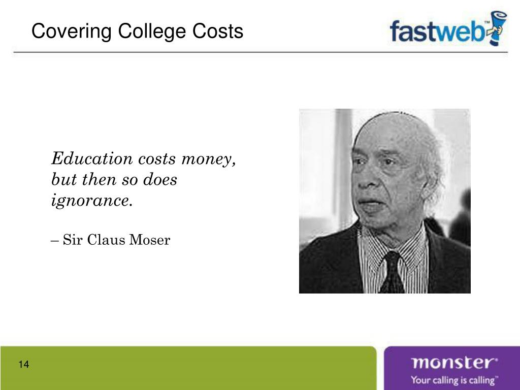Covering College Costs