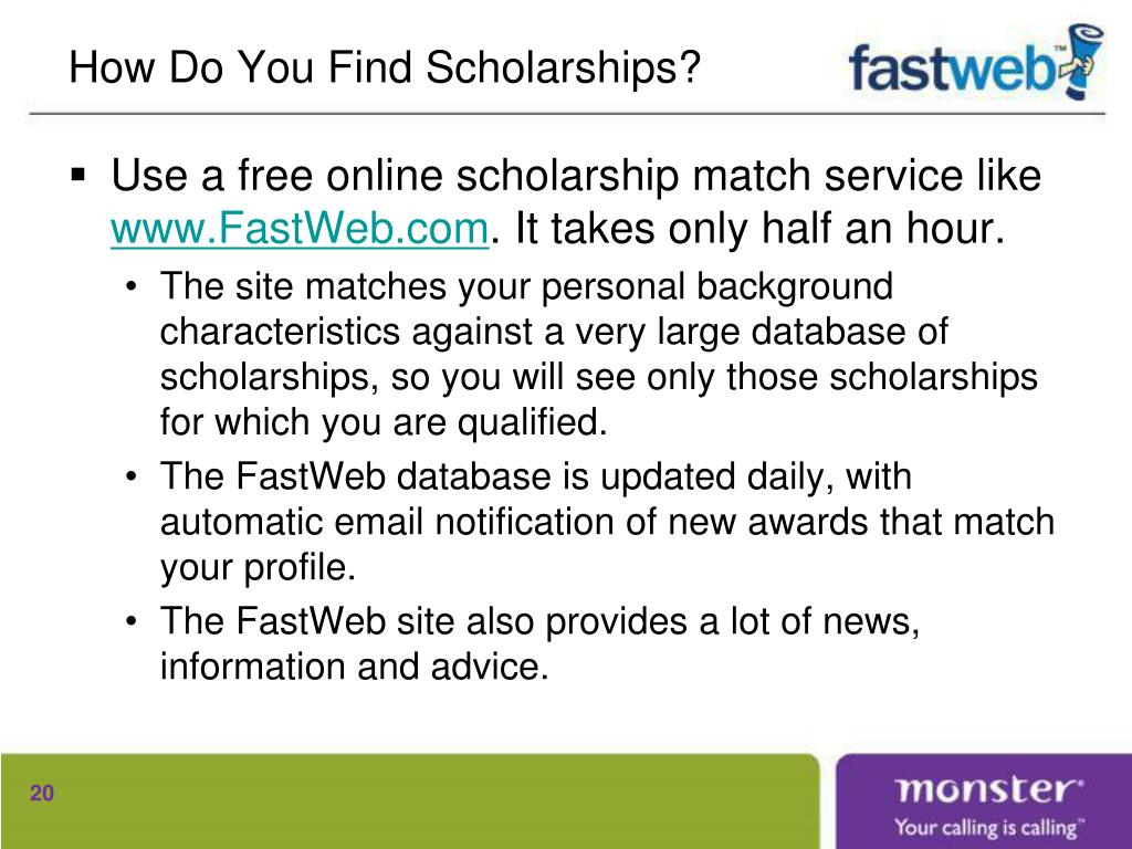 How Do You Find Scholarships?