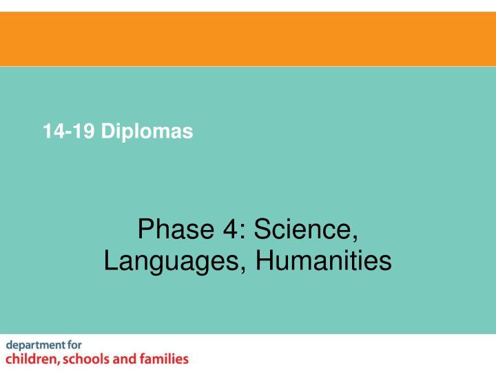 14-19 Diplomas