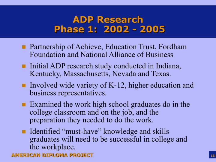 ADP Research