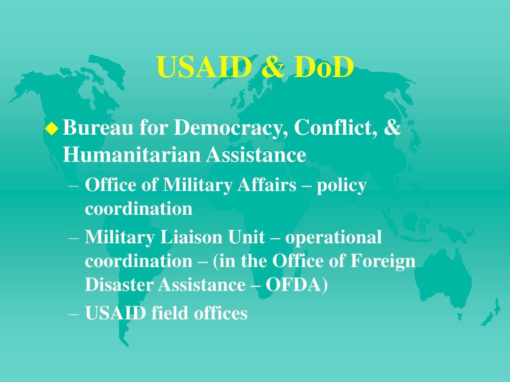USAID & DoD