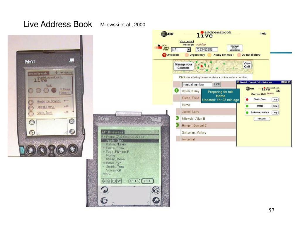 Live Address Book