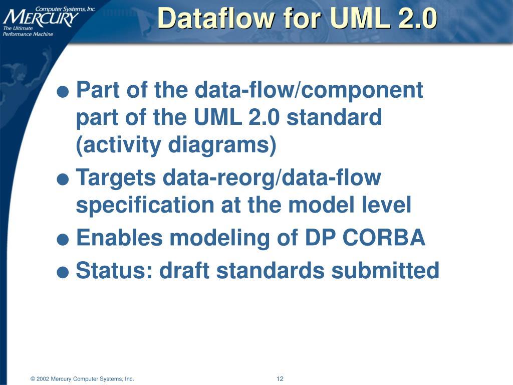 Dataflow for UML 2.0