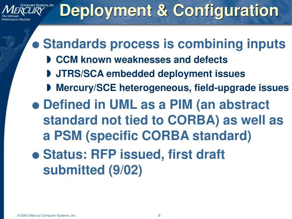Deployment & Configuration
